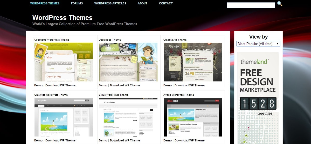 Thesis theme wordpress free