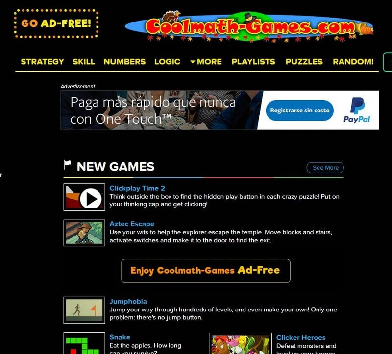 Free Games For Your Website