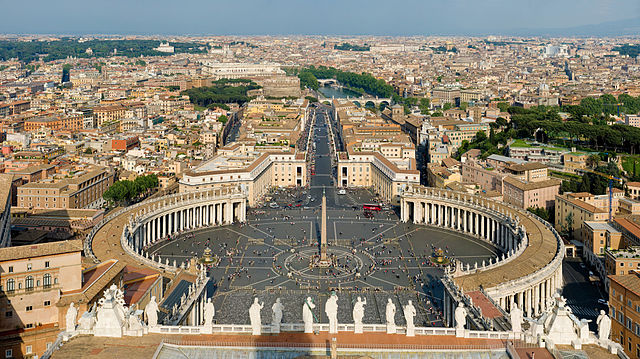 St. Peter's Basilica, Vatican City - Most Beautiful Churches in the World