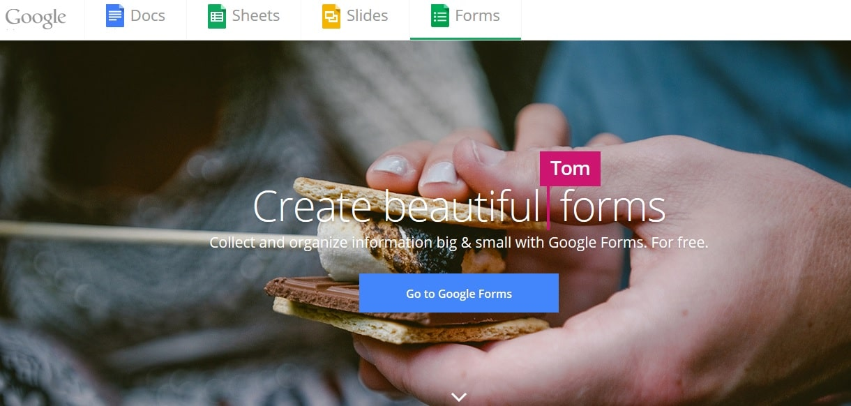 Google Forms - Free Creative Beatiful Survey Forms in Google Docs