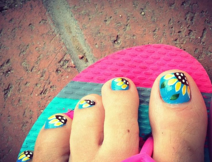 Easy Nail Design Art for Toe Nail Designs