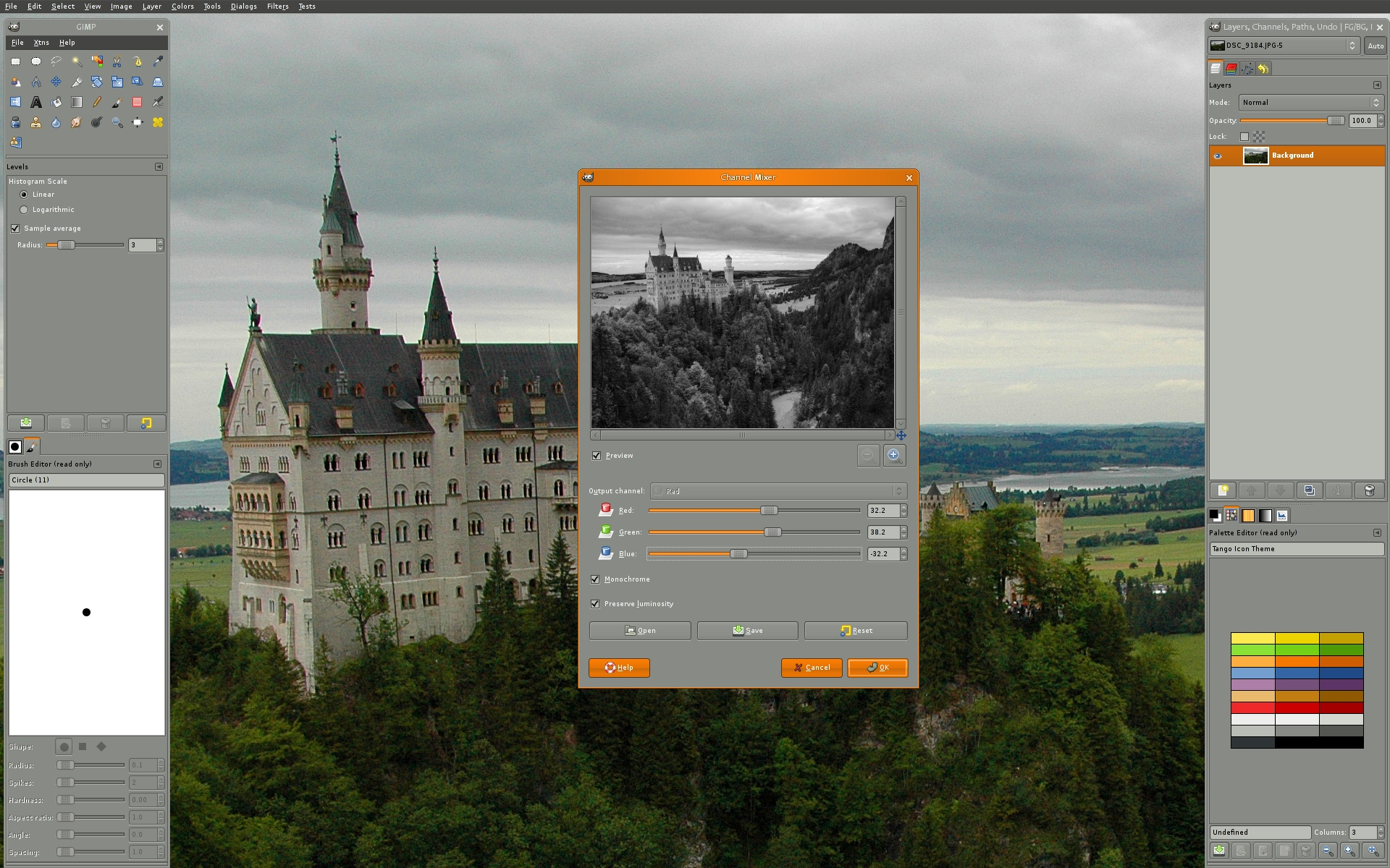 GIMP - Image Manipulation Tool for Windows-Linux-Mac