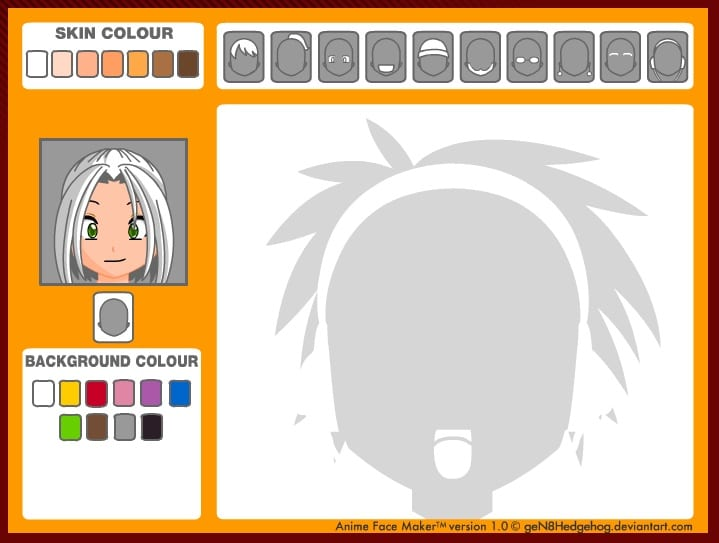 Manga Avatar Face Maker - Anime Face Maker to Create Cartoon Character of Yourself