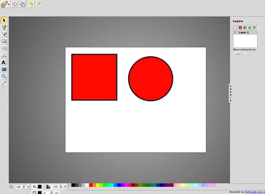 SVG-Editor - Draw SVG Vector Graphics Online