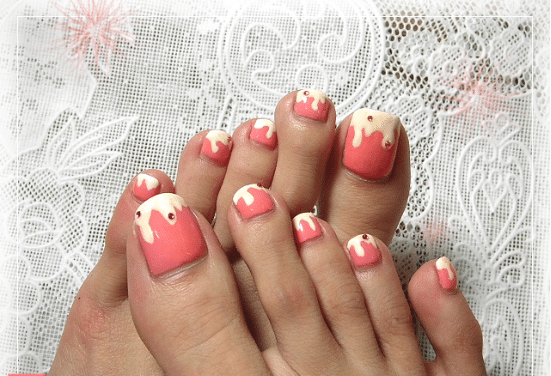 Simple Cute Toe Nail Designs Ideas