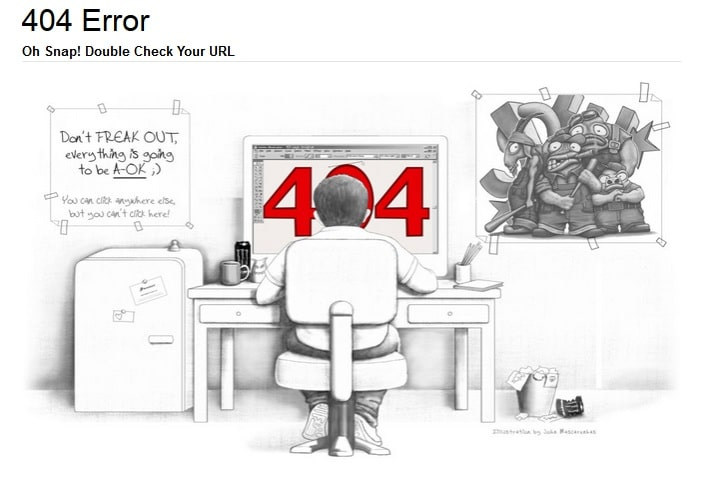 404 Error Design With Creativity