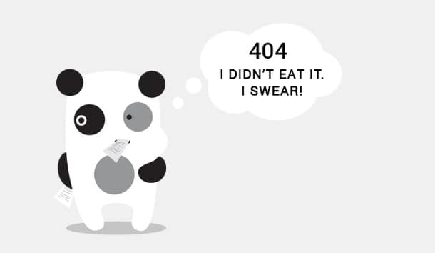 404 Error - Funny HTTP Not Found Page Design