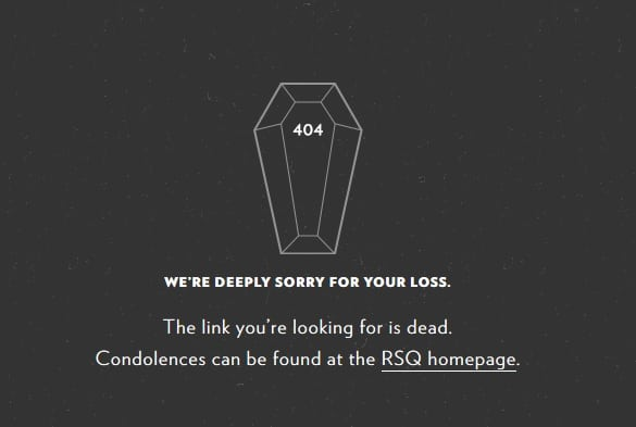 404 Not Found Deep Regret