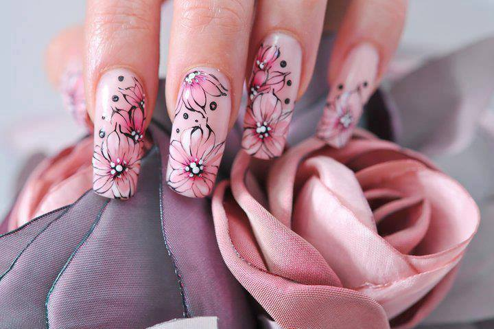 Beautiful-Flower-Nail-Designs-Art-for-Cute-Nails
