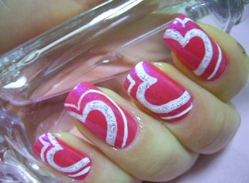 Beautiful-Two-Color-Nail-Designs-Art