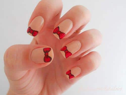 Cool-Nail-Design-Shorter-Nails