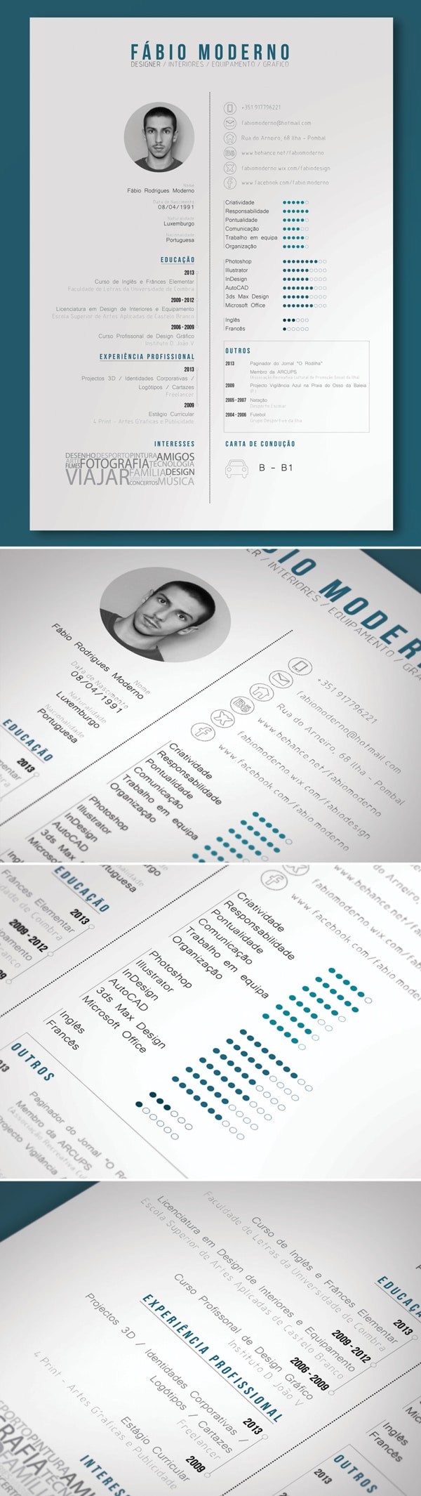 Curriculum Vitae Free Graphic Design Resume