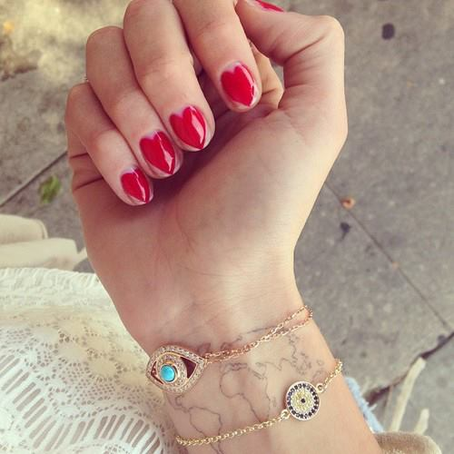Cute-Lovely-Nail-Art-Designs-for-Short-Nails