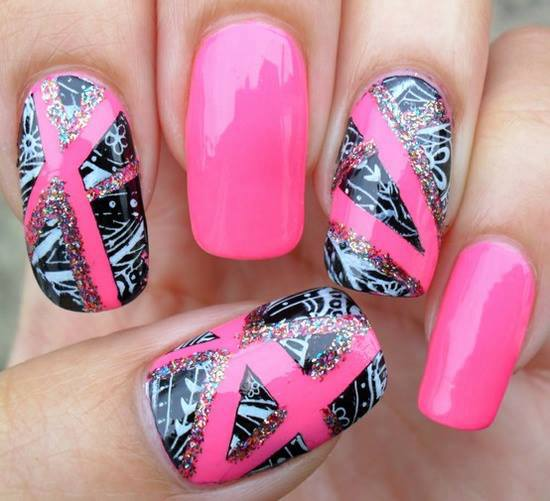 Cute-Nail-Art-Designs-Very-Simple