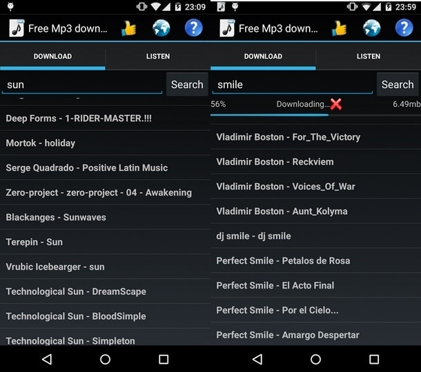 Best Free Music Downloader Apps for Android | Download MP3 Music ...