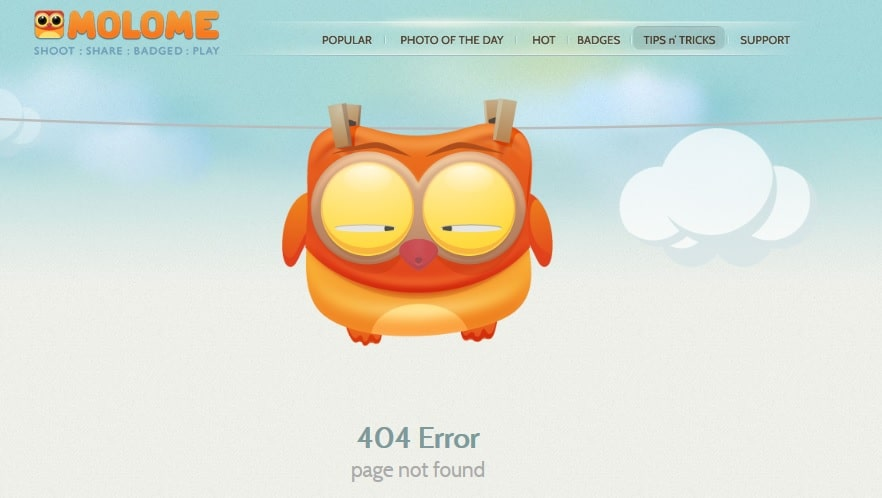 Fresh 404 Error Page Not Found