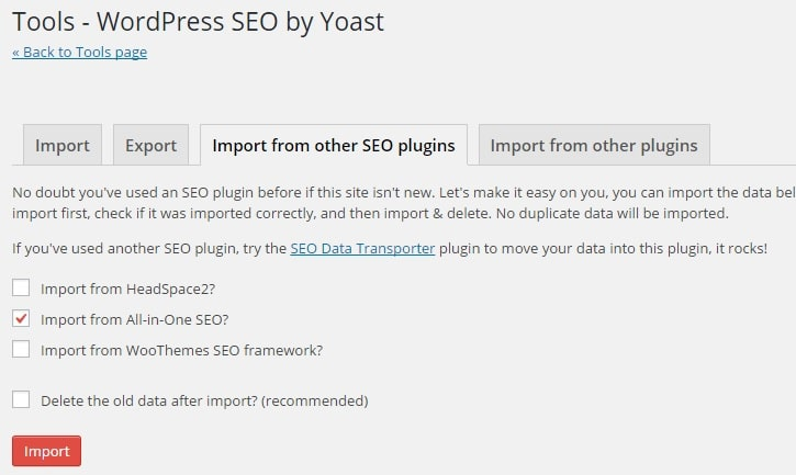 How to Transfer SEO Settings from Other WordPress SEO Plugins to WordPress SEO by Yoast