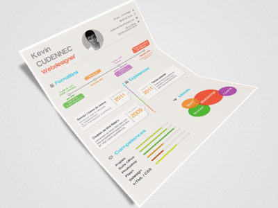 Infographic Resume Design Sample Templates