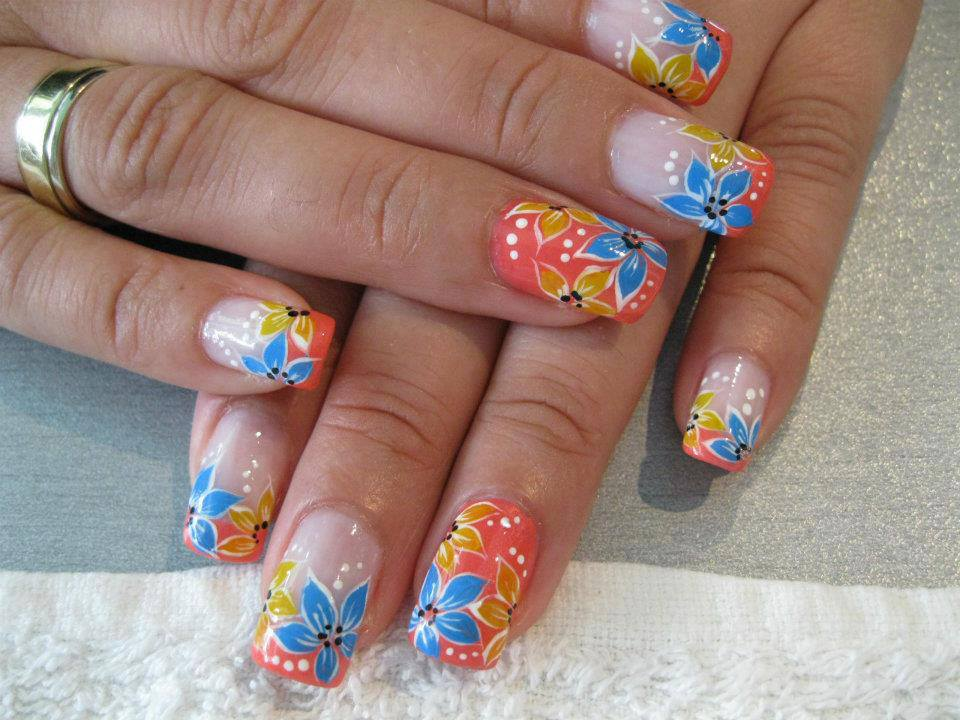 multi color cute nail designs art - Nail Designs Ideas