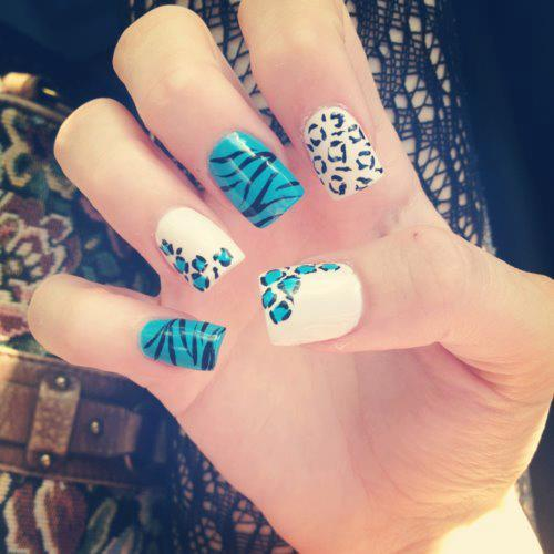 110 cute nail design ideas for creative nail art designers multi color cute nail designs prinsesfo Images