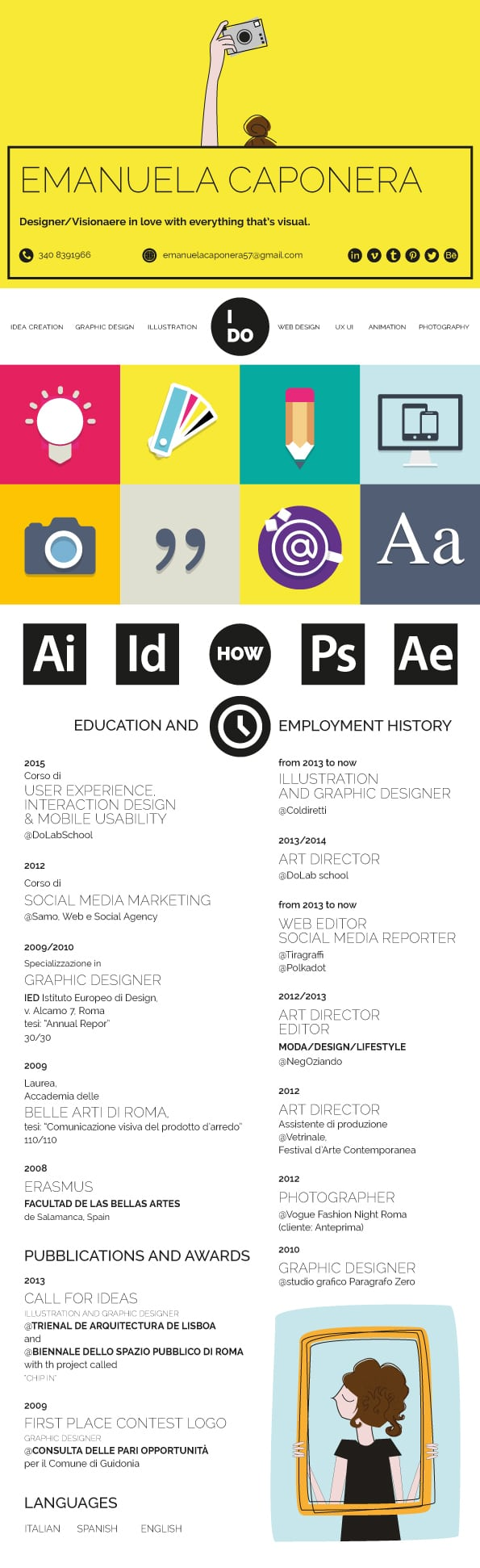 amazing graphic design resume templates to win jobs - Amazing Resume Template