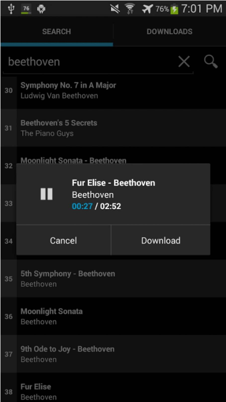Phone Free Downloadable Music For Android Phones 19 best music downloader apps for android with free supercloud song app android