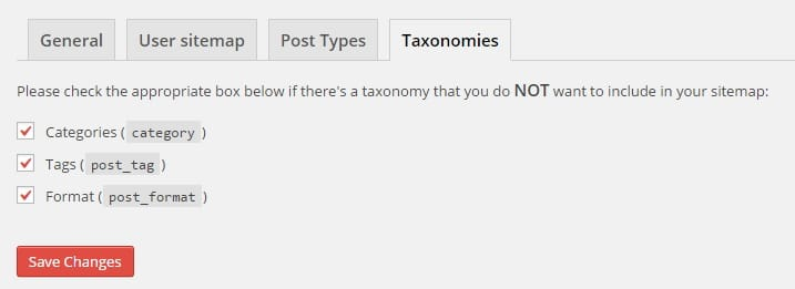 Taxonomies Settings in WordPress SEO by Yoast for Best SEO Results
