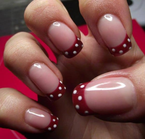Two-Color-Nail-Designs-Art-Ideas