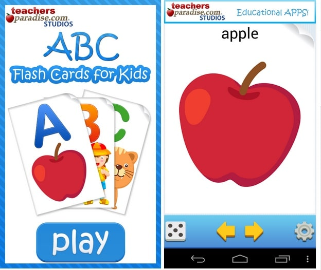 ABC Flash Cards for Kids Games - Best Gaming Apps for Android