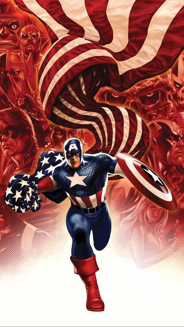 Captain America Background, iPhone 4 Images