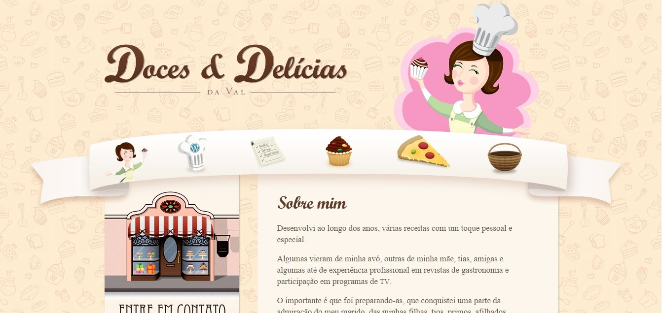 best bakery websites