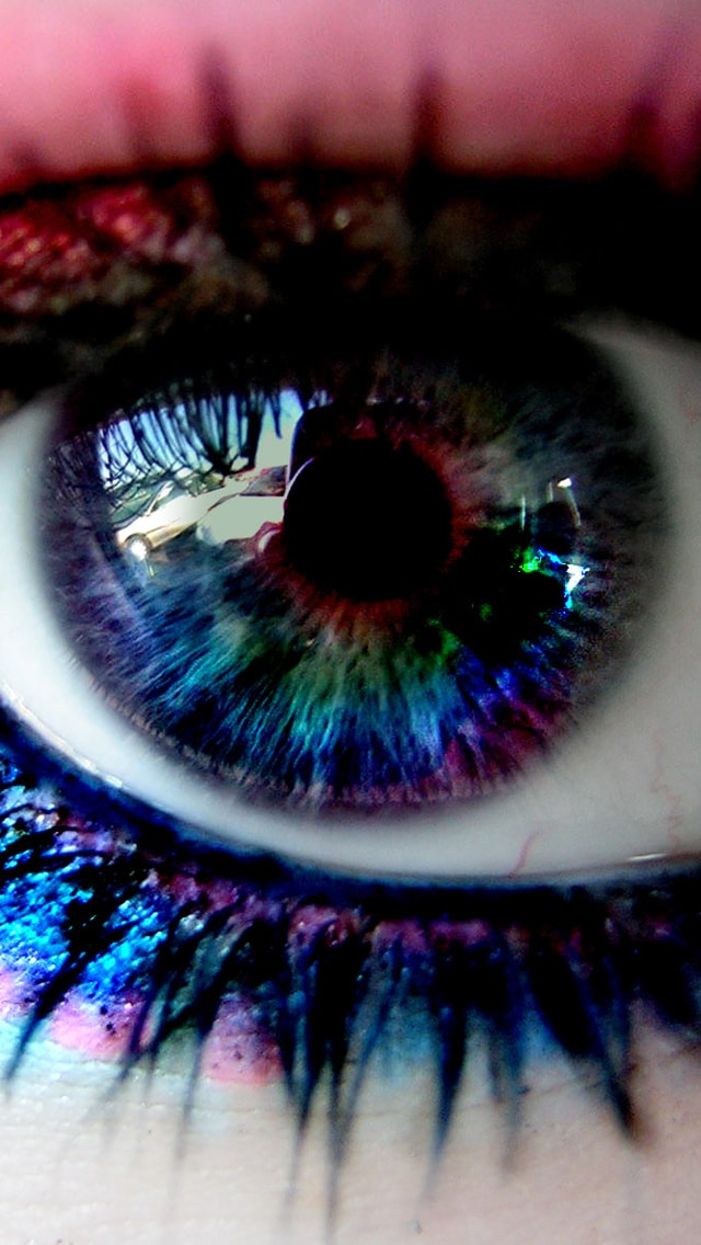 iPhone Wallpaper, Pretty Image, magical eye