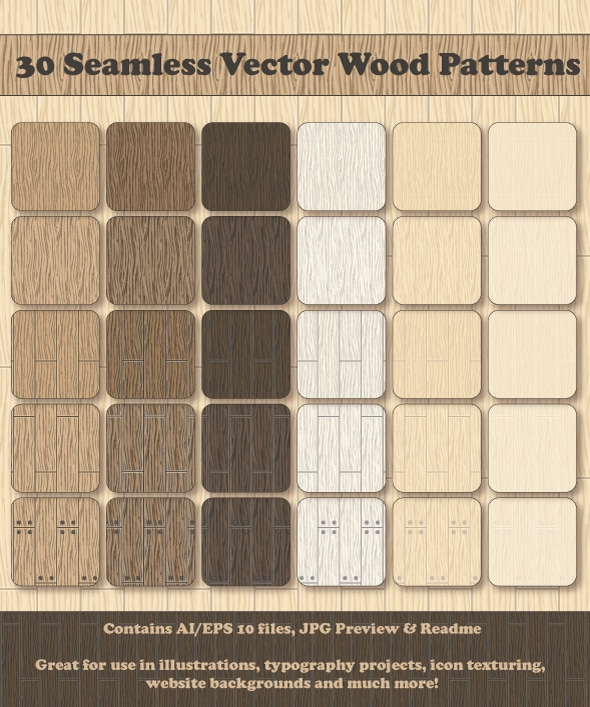 30-Seamless-Vector-Wood-Pattern-Vector-Wooden-Texure-Backgrounds