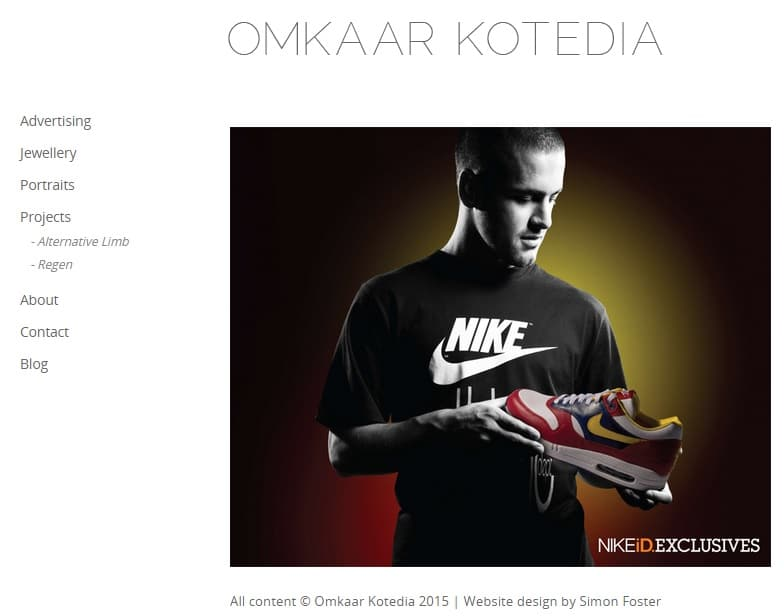 Ketodia Photography Website Portfolio Ideas for Photographers