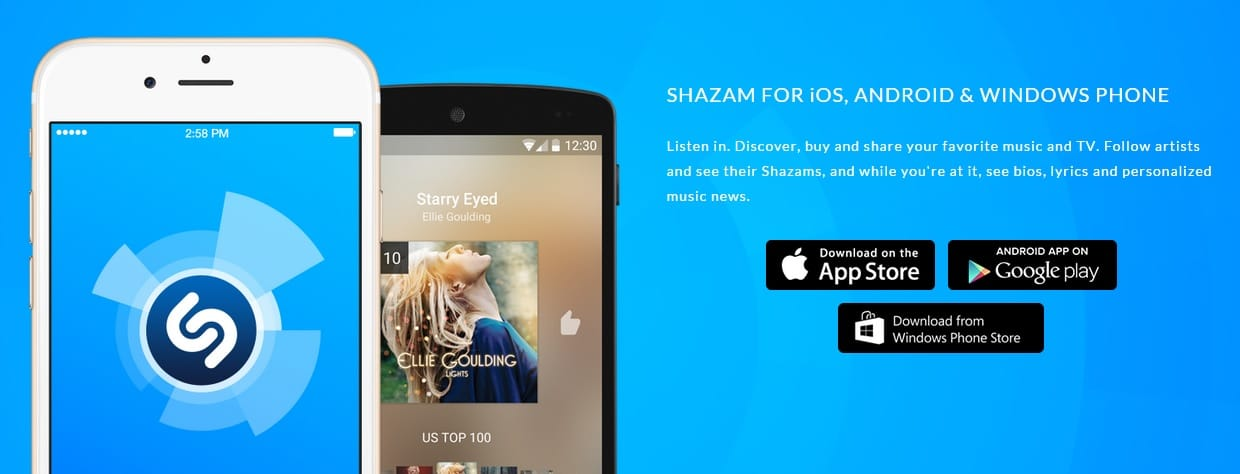 What Song Is This -Shazam - Best Song Identifier Apps for Android, iOS , Windows PC, Mac