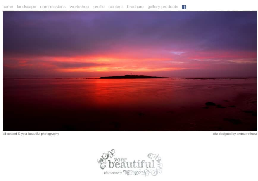 Your Beautiful Photography Portfolio Website Design