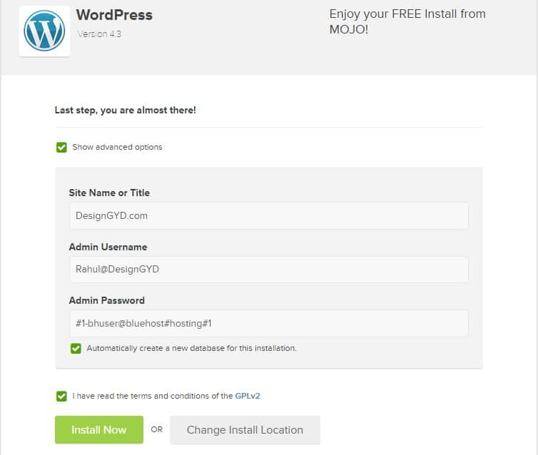 Install WordPress on Bluehost Hosting Server - How to Start WordPress Blog Step by Step