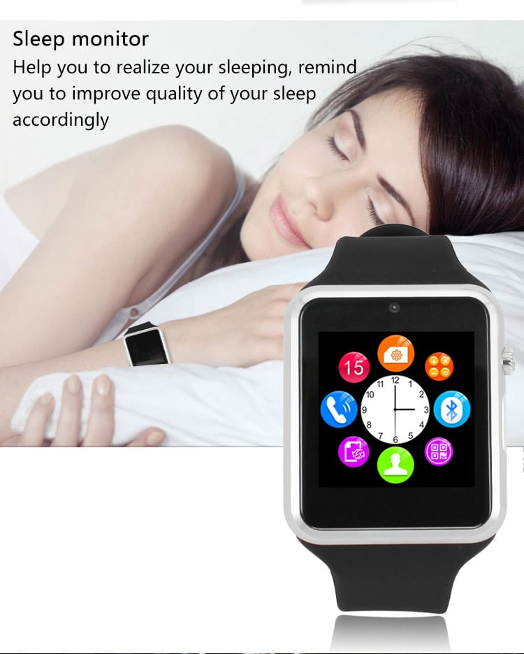 ZGPAX S79 Bluetooth SmartWatch Sleep Monitoring