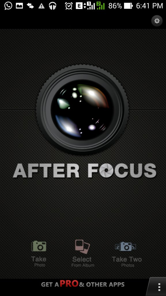 Afterfocus - Best Android Camera App for Professional Photo