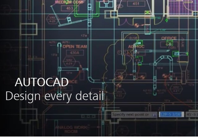 AutoCAD - Free CAD Software for Beginners - best 3D design software for Linux