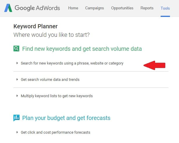 Beginner Guide to Keyword Research Using Google Keyword Planner