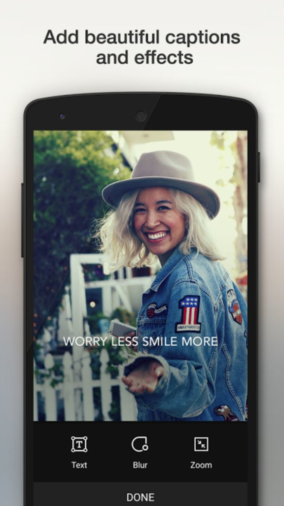 Camu Camera App for Selfie - Free Best Android Camera App for Taking Stunning Photos