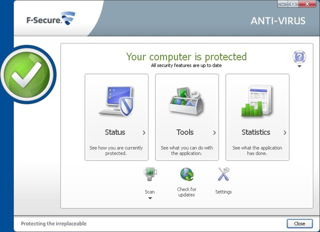 F-Secure Anti-Virus - Complete Virus Protection and Best Malware Removal Tool