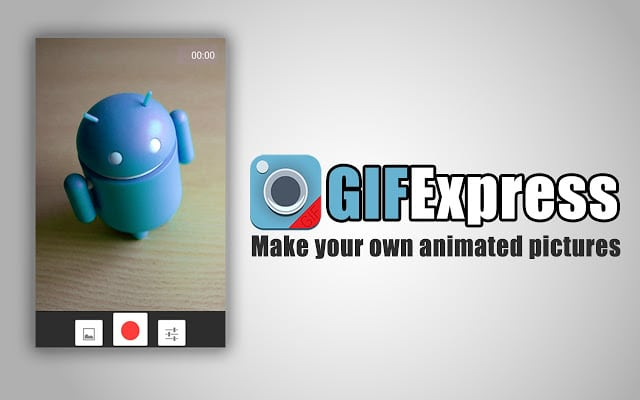 GIF express camera - Best free chrome addon to create animated GIFs with phone or PCs camera