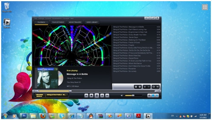 Kantaris Media Player - Best Music Player for Windows - Free Windows Media Player