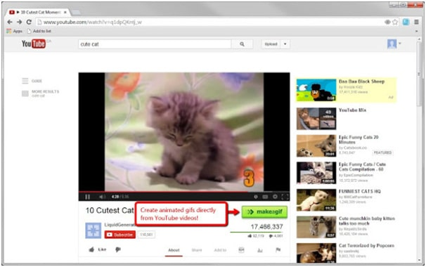 Make a gif - best chrome addon to create animated gifs with webcam