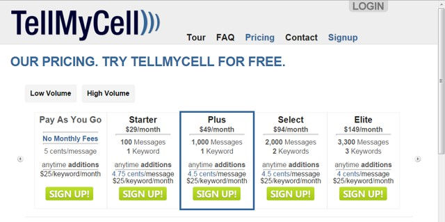 TellMyCell: easy mass texting service - fast mass texting - Text Marketing Service
