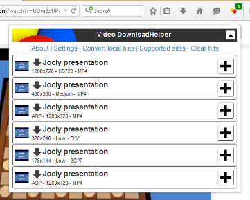 Video Download Helper - Best Firefox Addon Tool to Extract Videos and Images from Any Websites
