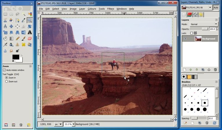 gimp: best open-source photo editor for Windows - Free Photo Editing Software Tool