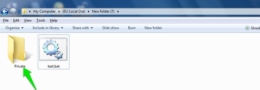 Useful Notepad Trick to Create A Password Protected Folder Using Notepad
